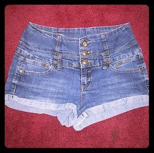 Boom boom Jean's denim shorts